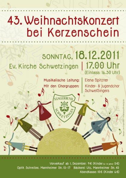 2011: 43. Weihnachtskonzert bei Kerzenschein