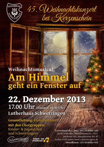 2013: 45. Weihnachtskonzert bei Kerzenschein