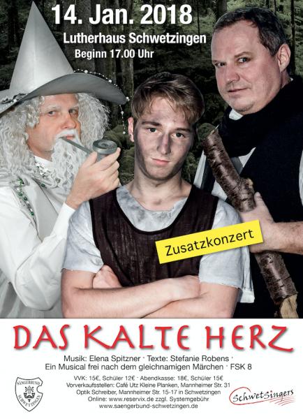 2018: Das Kalte Herz (Zusatzkonzert)